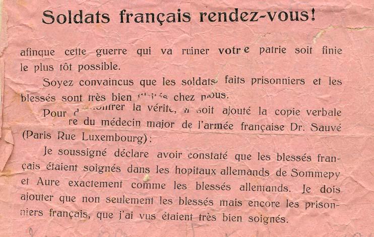 Les tracts de propagande TractAllemand02-1915-2